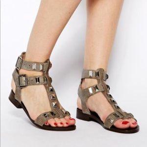 Steve Madden Perfeck Gladiator Sandal Moto Shoes